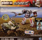 KRE-O G.I. Joe Serpent Armor Strike with Kreon Double Clutch & Cobra Mech Suit Pilot A2354