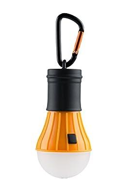 AceCamp LED Campinglampe, Zeltlampe inkl. Batterien und Karabiner, Notlicht, Wasserdicht, 40 Lumen, 4 Leuchtmodi, Dimmbar von AceCamp auf Outdoor Shop
