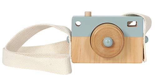 Little Dutch 4436 Fotoapparat aus Holz Adventure blau (Baby-kamera-spielzeug)