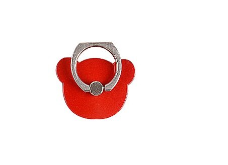 TBOP PHONE RING BUCKLE THE BEST OF PLANET SIMPLE & STYLISH Cartoon red bear bracket paste male and female models common Chinese red lazy phone ring
