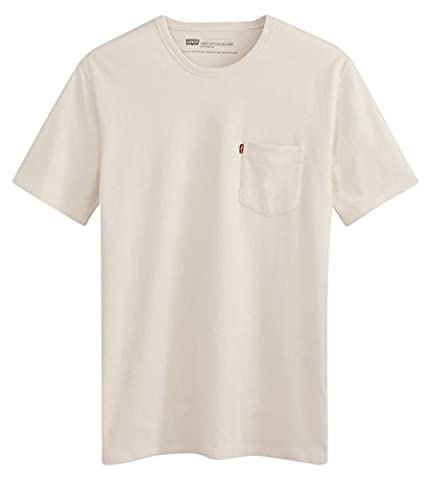 Levi's Homme SS Sunset Pocket T-shirt Manches Courtes, Blanc (White