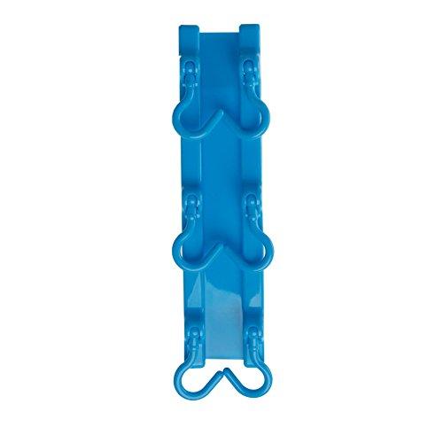 Junlinto Küchengeräte Rack Halter Haken Decke Wandschrank Hängende Lagerung Veranstalter Blau 20 * 4,80 cm / 7,87