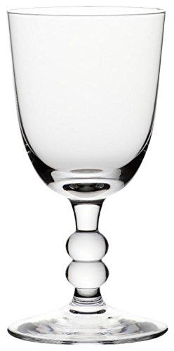 Bohemia Cristal 093 006 046 Weinkelche ca. 270 ml aus Kalk-Natron-Glas 6er Set Cottage