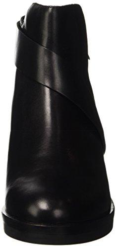 Geox D Demy A, Bottes Classiques Femme Schwarz (BLACKC9999)