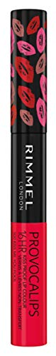Rimmel London Provocalips Rossetto Liquido, Formula Lunga Durata 2in1 per Labbra a Prova di Bacio, Kiss Me You Fool, 7 ml