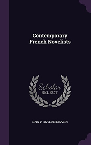 contemporary-french-novelists