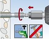 FISCHER 050281 - Varilla para anclaje quimico con rosca interior RG M10x190 (Envase de 10 ud.)