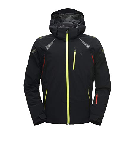 Spyder Pinnacle Herren Ski Jacke - schwarz XL