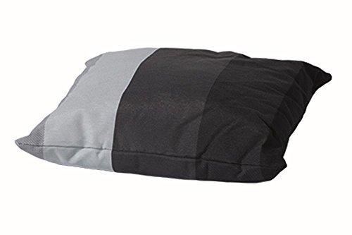 Madison C285 Coussin de Décoration 75% Coton 25% Polyester Lars Noir 50 x 50 cm