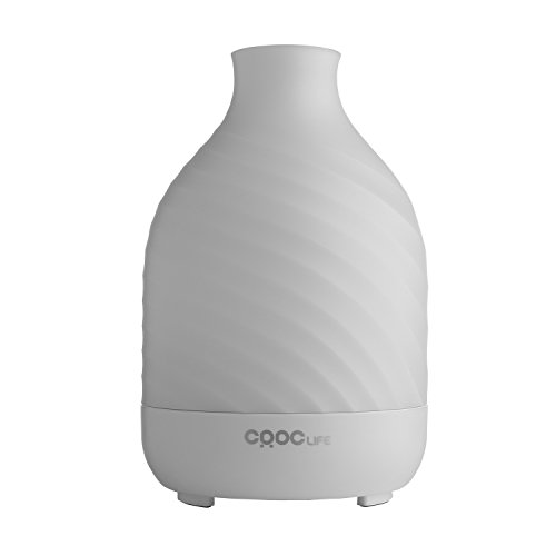 Aroma Diffuser, CRDC Life 200ml Ultrasonic Humidifier Aromatherapy Essential Oil Diffuser Waterless...