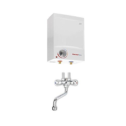 Preisvergleich Produktbild respekta thermoflow Obertischboiler 5Liter Warmwasserspeicher Boiler mit Armatur