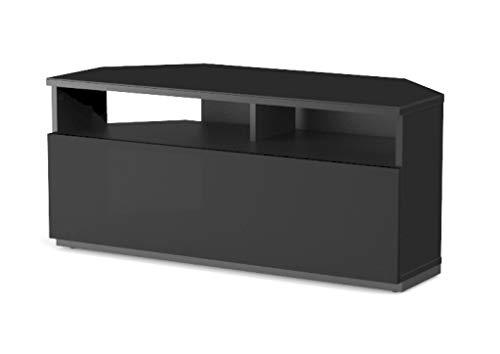 Sonorous Meuble TV d'angle réf. TRD-100 NN (100 cm de Largeur). Noir