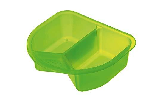 Rotho Babydesign Waschschüssel, 4l, Ab 0 Monate, TOP, Translucent Lime (Grün), 200060258