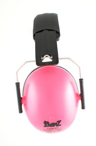 Preisvergleich Produktbild Babybanz GKB003 Kindergehörschutz, 2-12 Jahre mit extra weichem Kopfbügel, faltbar, pink