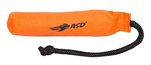Avery Sporting Dog Canvas Bumper Apportierdummy, verschiedene Größen & Farben, Hundespielzeug, Hundetraining, schwimmfähig, Orange -