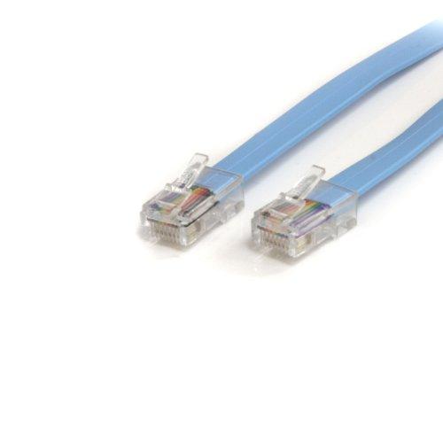 StarTech.com 1,8m Cisco Konsolen Rollover-Kabel – RJ45 Ethernet Stecker/Stecker