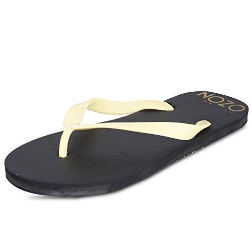 SCATCHITE Men's Black Flip-Flops & House Slippers (10)