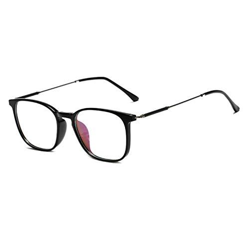 (Embryform Dame Durchsichtig klare Linse Klarglas Brille Rahmen Mädchen Unisex Gläser Wechselgläser Brillenfassungen)