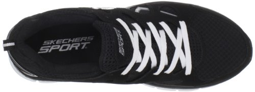 Skechers Synergy Gridiron 51197, Baskets mode homme Noir-TR-SW715