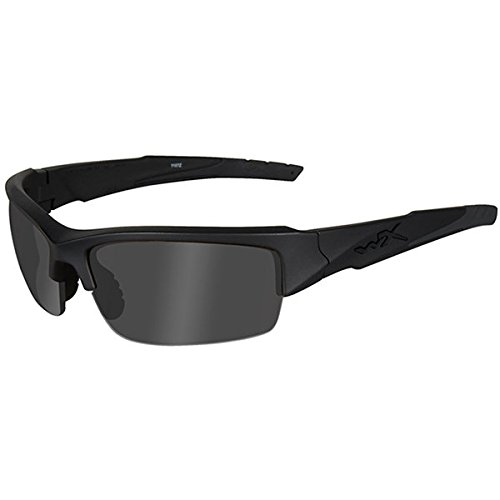 Wiley X Schutzbrille von WX, Unisex, Sonnenbrillen, Wx Valor, Matte Black/Ops Smoke Grey