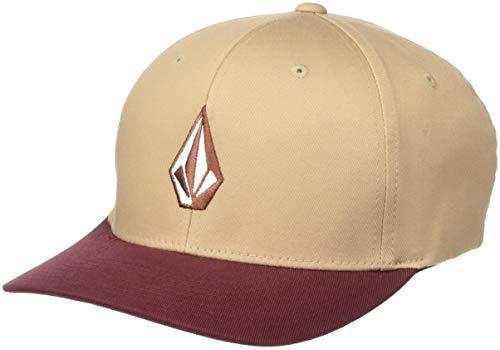 Imagen de volcom men's full stone flexfit hat sand brown s/m