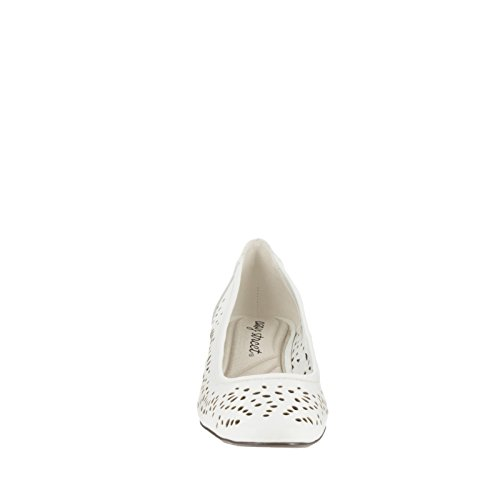 Easy Street Crystal Femmes Synthétique Talons white
