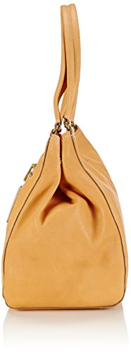 Bree - Stockholm 6, Nature, Double Shoulder Bag, Borsa A Tracolla da donna Beige (nature 750)