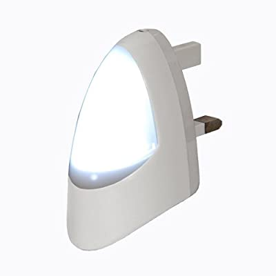 Automatic LED Night Light - Plug in Energy Saving Dusk 2 Dawn Sensitive Night Light