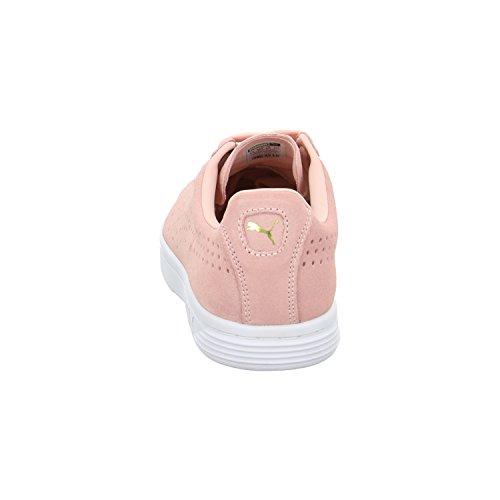 Puma Court Star SD Sneaker Coral Cloud-Puma White-Gold