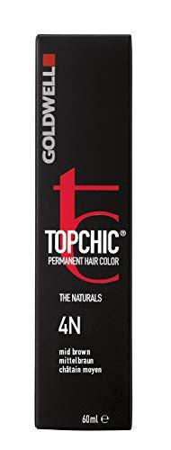 Goldwell Topchic Haarfarbe 4N, mittelbraun, 60 ml, 1er Pack, (1x 0,06 L)