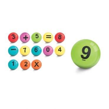Spielballset Numero, 14 Stück, Durchmesser 18 cm