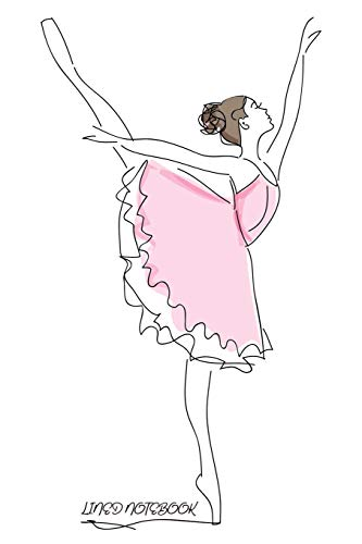 Lined Notebook: Pretty Ballerina Lined Notebook for Girls and Ladies who Love Ballet. Perfect for Journaling, Keeping a Diary, Todo Lists, and Writing ... Cute Medium Convenient Size 6x9 (Notebooks)
