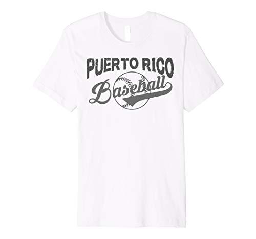 Puerto Rico Baseball TShirt für Männer Frau Kinder Kind
