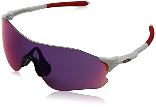 Oakley Unisex-Erwachsene Sonnenbrille EVZERO PATH Weiß (Blanco Mate), 0