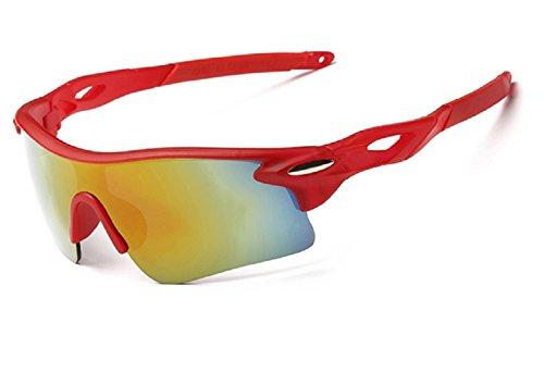 Zolimx Gafas de Sol Para el Deporte al Aire Libre Ciclismo Gafas de Bi