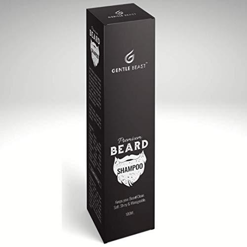 Gentle Beast Beard Wash for Soft and Shiny Beard | Beard Shampoo for Cleansing & Conditioning of Beard 100ml