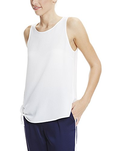 Bench Damen Top Top With Knot Detailing Weiß (Snow White WH11210)