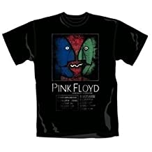 """T-Shirt Homme Noir Pink Floyd  """"Division Bell Tour"""" (Taille XL)"""