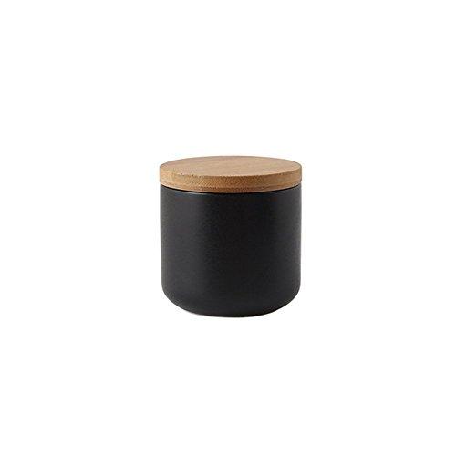 OnePine Tarro de cerámica con Tapa hermética de Bambú, 260ml Potes de...