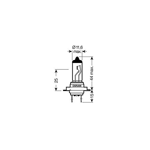 10x Osram 64210 H7 12V 55W PX26d Glühbirne Glühlampe Birne Auto Lampe