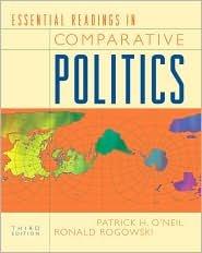 Essential Readings in Comparative Politics Publisher: W. W. Norton & Company; Third Edition