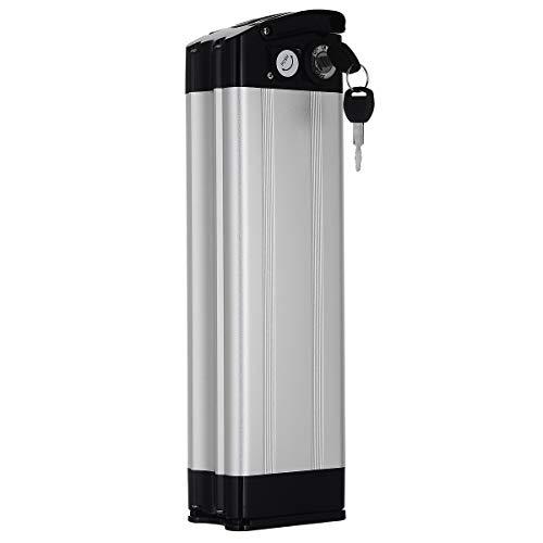 YOSE POWER E-Bike Akku 36V 15Ah (555Wh) mit USB, Pedelec Batterie für Aldi Prophete MiFa Trio Samsung Zhenlong Phylion