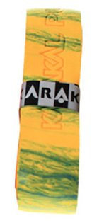 Karakal Griffband Super PU MultiColours gelb/grün 4x Griffband