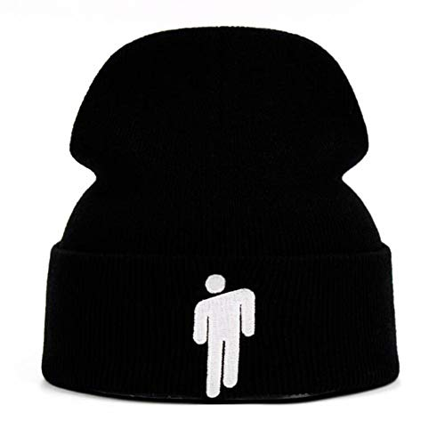 DAMENGXIANG 5 Farben Billie Eilish Mütze gestrickt Winter Hat solide Hip-hop Skullies Strickmütze Cap kostüm zubehör Geschenke warme Winter
