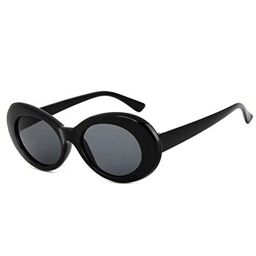 Taiyangcheng occhiali da sole per bambini a forma rotonda occhiali da sole a forma di ovali per bambini occhiali da vista per ragazze carine,nero
