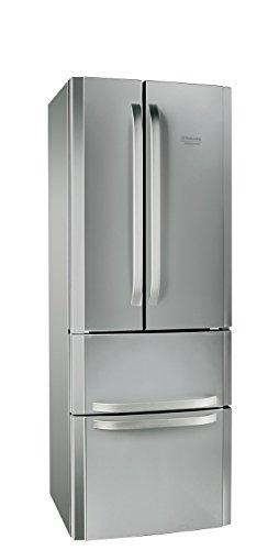 Hotpoint E4D AA X C frigo américain - frigos américains (Autonome, Acier inoxydable, Porte française, A+, SN-T, Bas-placé)