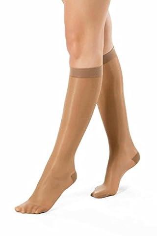 ®BeFit24 Oedema Compression Socks (10-14 mmHg, 40 Denier) for Women - Elegant & Stylish Anti-Fatigue Edema Socks for Swollen Feet & Ankles