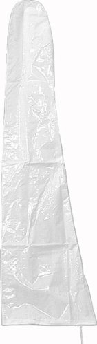 165229 Schirmschutzhülle transparent beschichtetes Polyethylengewebe für Schirme bis Ø 400 cm