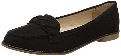 dorothy-perkins-liana-plait-mocassins-femme-noir-noir-noir-365