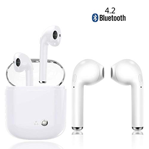 Kabelloses Bluetooth-Headset, Mini-In-Ear-Kopfhörer Hi-Fi-Kopfhörer Kopfhörer mit Geräuschunterdrückung -